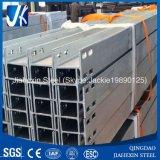 Il segnale d'acciaio galvanizzato con installa la scanalatura (S235JR, S355JR)