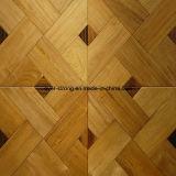 Hölzerner Bodenbelag-Mosaik-Parkett-Bodenbelag ausgeführter Bodenbelag