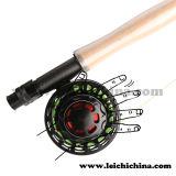 Carretel impermeável da pesca de mosca do CNC do clássico do grande botão do arrasto