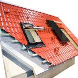 Roulis glacé de panneau de toit de tuile formant la machine
