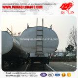 Remorque utilisée de camion-citerne de lait d'acier inoxydable de bonne qualité semi
