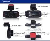 GPS機能の150 Angleg広いセンサーのデジタルビデオレコーダー