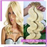 Jungfrau-brasilianisches Haar Italienisch Keratin-Haar