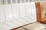 Camas matrimoniales modernas de la cama de madera sólida (M-X2254)