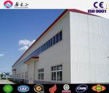 Materiales de construcción, taller industrial de la estructura de acero, almacén prefabricado de acero