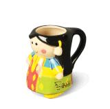 Tazza di caffè fredda del Teacup su ordinazione di ceramica poco costoso con l'alta qualità