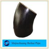 炭素鋼の不足分の半径45程度の肘Sch40 ANSI B16.28