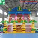 膨脹可能なスライド、膨脹可能なジャングルのスライド、販売のための膨脹可能な子供のスライド