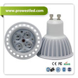セリウムとの4W LED GU10-GU10/E27 Spotlight Lamp、RoHS
