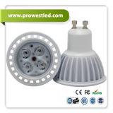 lámpara del proyector de 4W LED GU10-GU10/E27 con el CE, RoHS