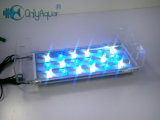 indicatore luminoso di 40cm 18*3W Blue+White LED per l'acquario
