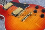 Musique grande/guitare électrique faite sur commande avec le matériel argenté