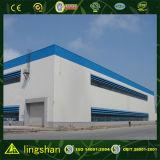 Edificio galvanizada y de la pintura prefabricado