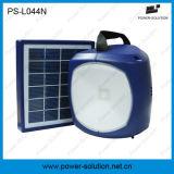 Capienza solare portatile 2600mAh della batteria della lanterna di alta qualità PS-044n con il caricatore del telefono del USB per dell'interno & esterno