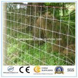 Оптовая горячая окунутая гальванизированная сетка ограждая/животная загородка поля