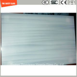 4 - 19mm Tempered Wooden Texture UV - Resisted Glass for out Door Furniture