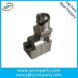 Precisão do CNC que processa as peças fazendo à máquina giradas e de triturações do alumínio