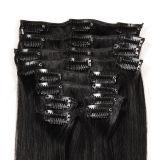 African American, Clip Hair를 위한 Hair Extensions에 있는 높은 Quality 100%년 Human Hair Clip