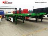 планшетный контейнера 40-60ton трейлер Semi с Axles Fuwa