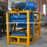 Concreto Qt4-25 que se enclavija pavimentando la máquina del bloque