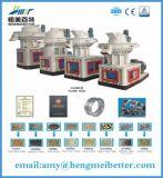 Fabricante de planta de madeira automático da pelota da lubrificação 2.5tph por Hmbt Companhia