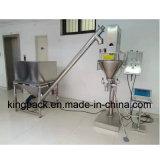 Máquina de rellenar medidora del polvo del taladro de alta velocidad automático