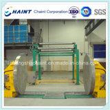 Papiermühle-Rolle, die Maschinerie einwickelt