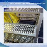 Placa anti perforada del patín para las escaleras antis del resbalón