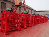 Máquina da construção dos blocos Qtj4-35/máquina molde do bloco/tijolo que dá forma à máquina