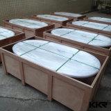 De nieuwe Italiaanse Badkuip van de Steen van de Hoek Ovale Marmeren Freestanding (TUB1612145)