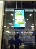 doppio comitato Digital Dislay dell'affissione a cristalli liquidi degli schermi 43-Inch che fa pubblicità alla visualizzazione dell'affissione a cristalli liquidi del contrassegno di Digitahi del giocatore