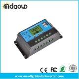 controlemechanisme van de 10A/20A/30APWM 12/24/48 V het ZonneLast met USB