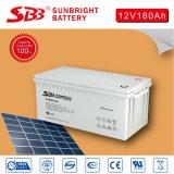 Batterie profonde 12V180ah de cycle d'énergie solaire de qualité