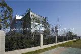 Rete fissa d'acciaio galvanizzata giardino residenziale industriale nero semplice 23 di obbligazione di Haohan