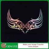 Qingyi Good Quality Hologram DIY Transferência de calor Vinil para Wears