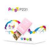Imprimante Pocket avec imprimante photo portative de téléphone de WiFi sans fil d'imprimante photo la mini pour l'IOS et le Smartphone androïde pour les meilleurs cadeaux de Noël