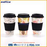 Tasse de café en bambou personnalisée par qualité de fibre