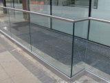 Balcón al aire libre del canal de U Canal, barandal basado en aluminio del canal de U para la escalera