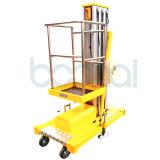 levage d'alliage d'aluminium de plate-forme de travail aérien de mât de 8m (constructeur direct)
