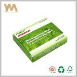 Rectángulos de papel para el rectángulo de papel del regalo del conjunto de la medicina, caja de embalaje