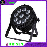 9x15W IP65 Waterproof RGBWA LED PAR Luz