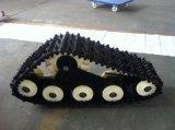 Het speciale RubberKruippakje van het Spoor voor Kleine Maaimachine