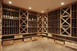 Kelder van de Wijn van het Hout van de luxe de Commerciële Stevige Houten met het Rek van de Wijn