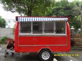 Acoplado de la venta del helado de los alimentos de preparación rápida de la alta calidad