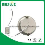 Druckguss-Aluminium LED beleuchtet unten 9W 12W 18W 24W