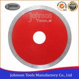 115mm het Scherpe Blad van de Ceramiektegel van de Diamant met TurboGolf voor porselein