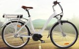 Bicicleta elétrica da cidade MEADOS DE do motor da manivela da movimentação com o sensor do torque ajudado