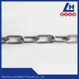 encadenamiento de conexión estándar del acero inoxidable DIN766 de 2mm-16m m