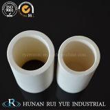 tubo di ceramica dell'allumina di 85% 95%99% per isolamento