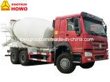 構築のためのSinotruk HOWO 6X4のミキサーのトラックの具体的なミキサータンク